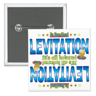 Levitation Dr. B Head 15 Cm Square Badge