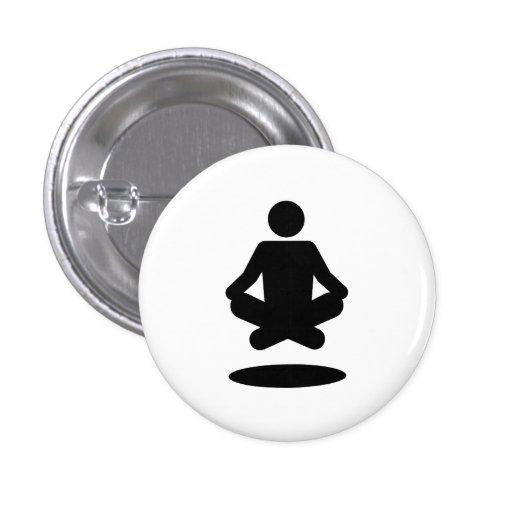 'Levitation' Pictogram Button