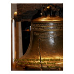 Leviticus Liberty Bell Poster