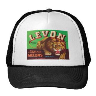 Levon Melons Vintage Label Hats