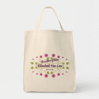 Lew ~ Elizabeth Van / Famous USA Women Grocery Tote Bag