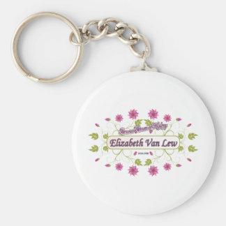 Lew Elizabeth Van Famous USA Women Keychains