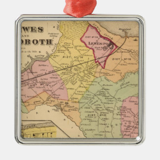 Lewes and Rehoboth Christmas Ornament
