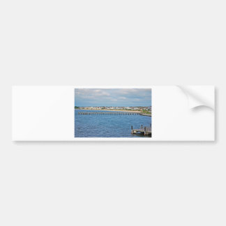 """""""Lewes Harbor from ferry"""" collection Bumper Sticker"""