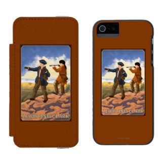 Lewis and Clark Exploring the West Incipio Watson™ iPhone 5 Wallet Case