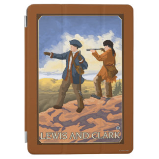 Lewis and Clark Exploring the West iPad Air Cover