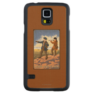 Lewis and Clark Exploring the West Maple Galaxy S5 Case