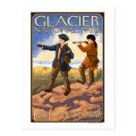 Lewis and Clark - Glacier National Park, MT Post Card