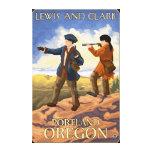 Lewis and Clark - Portland, Oregon Canvas Print