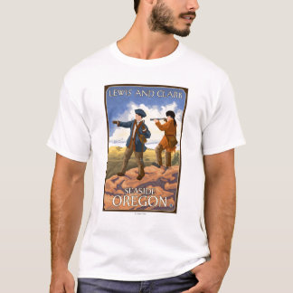 Lewis and Clark - Seaside, Oregon T-Shirt