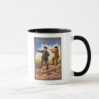 Lewis and Clark - Yellowstone National Park Mug