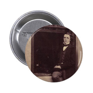 Lewis Carroll Photo 2 6 Cm Round Badge