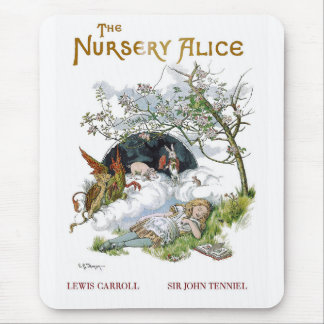 "Lewis Carroll, ""The Nursery Alice"" Mouse Mat"