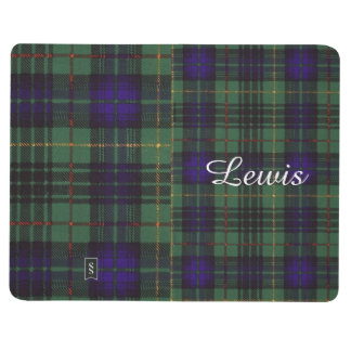 Lewis clan Plaid Scottish kilt tartan Journal