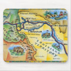 Lewis & Clark Expedition Map Mouse Mat