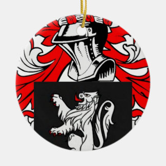Lewis Coat of Arms Ornaments