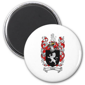 Lewis Family Crest - Lewis Coat of Arms 6 Cm Round Magnet
