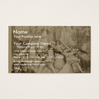 Lewis Morrison in 'The Master of the Ceremonies' Business Card