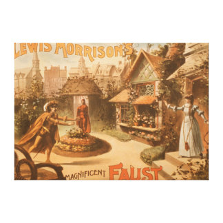 Lewis Morrison's Magnificent Faust Theatre Canvas Print