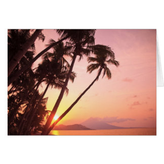 Lewolin Village, Illi Api Island, Selat Boleng Greeting Card