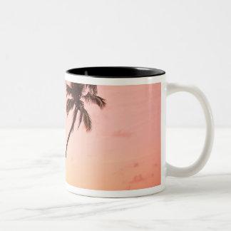 Lewolin Village, Illi Api Island, Selat Boleng Two-Tone Coffee Mug