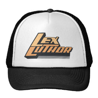 Lex Luther - Two Lines Mesh Hat