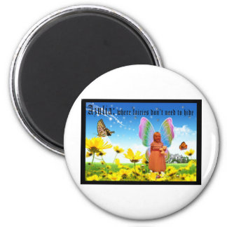Lexi Loon 6 Cm Round Magnet
