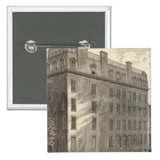 Lexington Avenue Turkish and Roman Baths 15 Cm Square Badge
