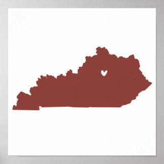 Lexington, Kentucky Love Poster