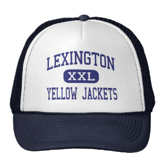 Lexington - Yellow Jackets - High - Lexington Trucker Hat