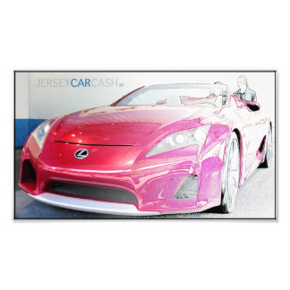 Lexus Lf Design Photo Print