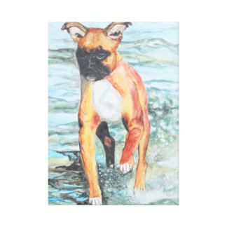 Leyla Gallery Wrapped Canvas