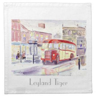 Leyland Tiger napkin
