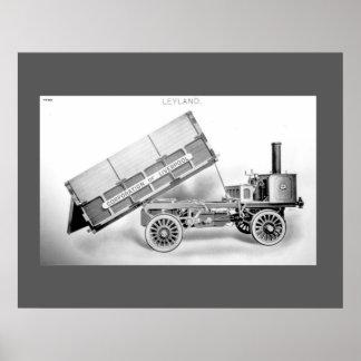 Leyland Tipper Wagon Print