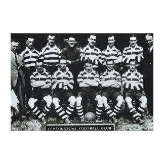 Leytonstone Football Club, c.1935 Canvas Print