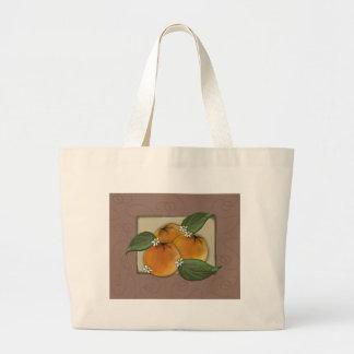 lg. tote - my favorite oranges label bags