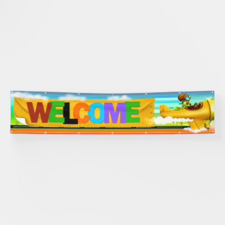 LG Welcome Banner and it is Adorable