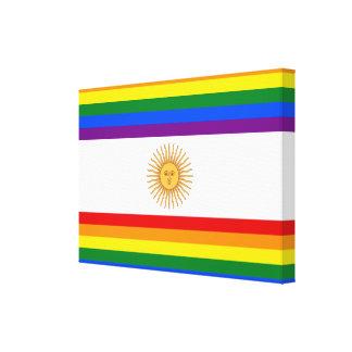 LGBT Argentina Canvas Print