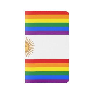 LGBT Argentina Large Moleskine Notebook