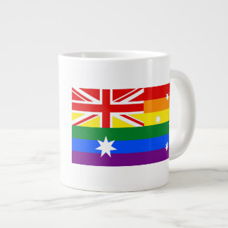 LGBT Australia Large Coffee Mug