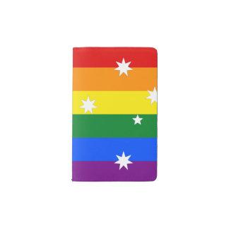 LGBT Australia Pocket Moleskine Notebook