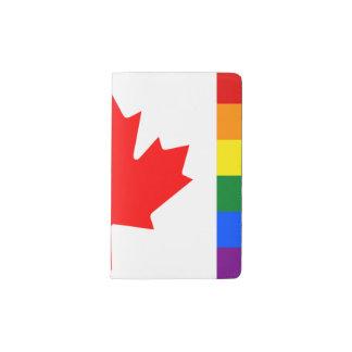 LGBT Canada Pocket Moleskine Notebook