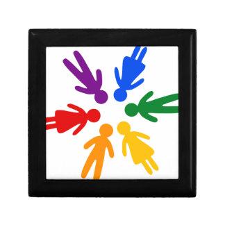 lgbt circle gift box