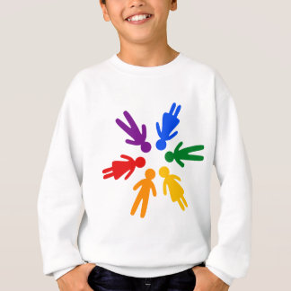 lgbt circle sweatshirt