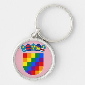 LGBT Croatia Key Ring