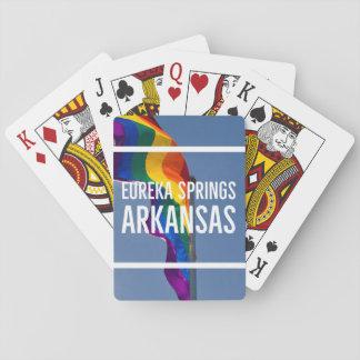 LGBT eureka springs playing cards
