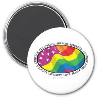 LGBT Flag Magnet