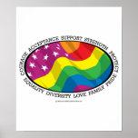 LGBT Flag Poster