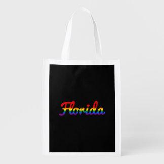 LGBT Florida Rainbow text