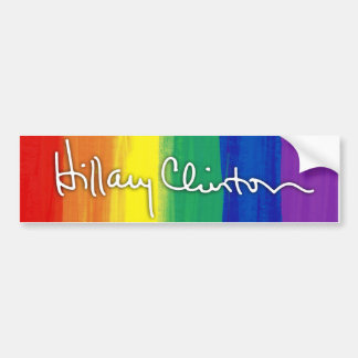 LGBT for Hillary Clinton Bumper Sticker